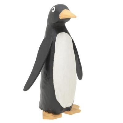 Inart Ξύλινος Πιγκουίνος 3-70-521-0005