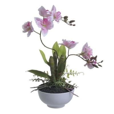 Inart Λουλούδι Σε Γλάστρα 3-85-246-0236
